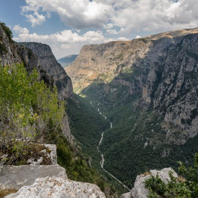 The Gorge of Vikos at Zagori