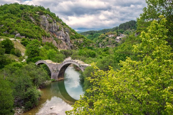 The bridge of Plakida at Zagori