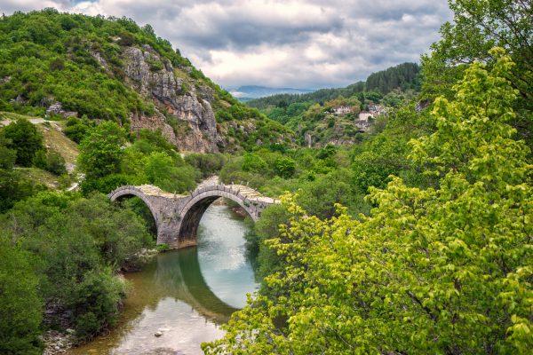 The bridge of Plakida at Zagori