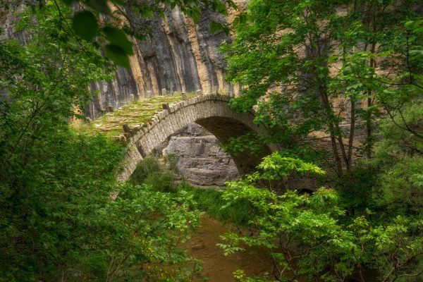 The bridge of Lazaridi at Zagori