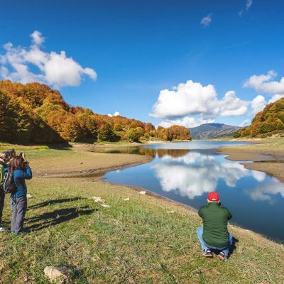 Photography tour at Aoos Lake of Metsovo