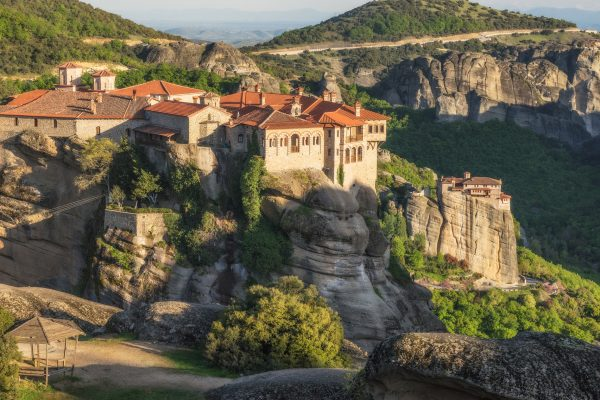 Varlaam and Rousanou Monastery of Meteora