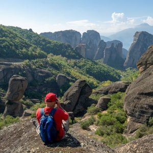 Photographing the Rousanou Nunnery of Meteora