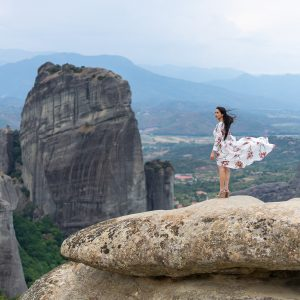 Private Meteora Photo Shoot from Athens train to train