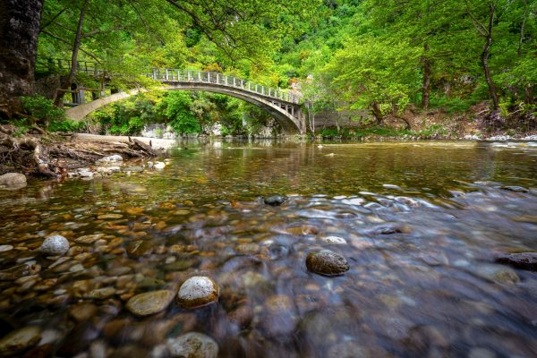 The bridge of Papigo at Zagori