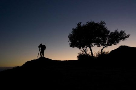 Meteora blue hour